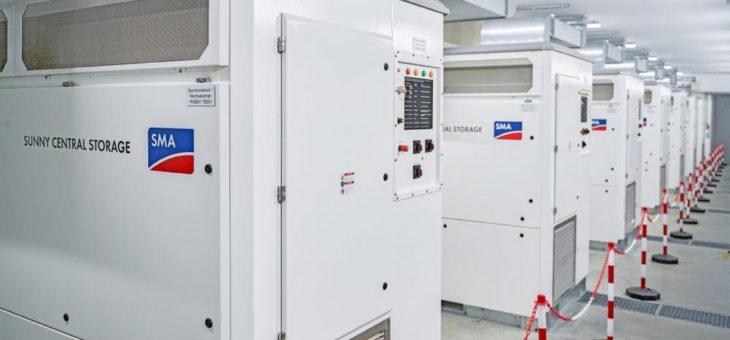 Speichersystem mit SMA Batterie-Wechselrichtern ermöglicht stabile Stromversorgung mit Erneuerbaren Energien