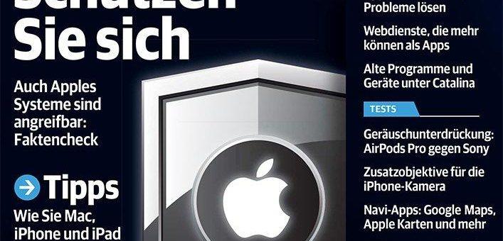 Mehr Sicherheit für Mac, iPhone und iPad