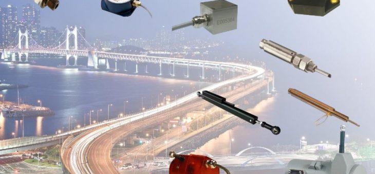 disynet – große Auswahl an Sensoren zum Monitoring großer Strukturen