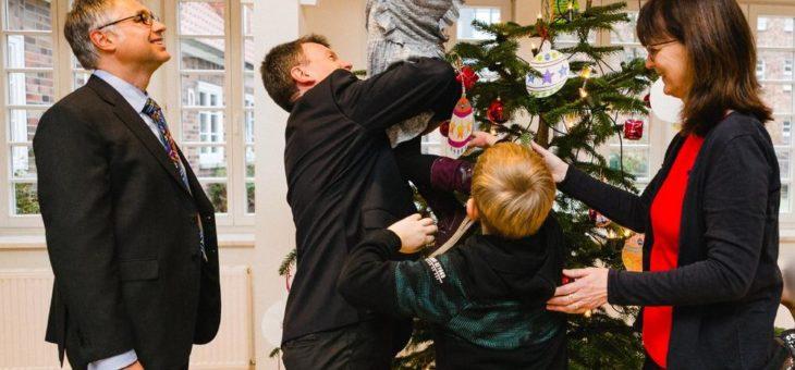 Ein Weihnachtsbaum voller Wünsche