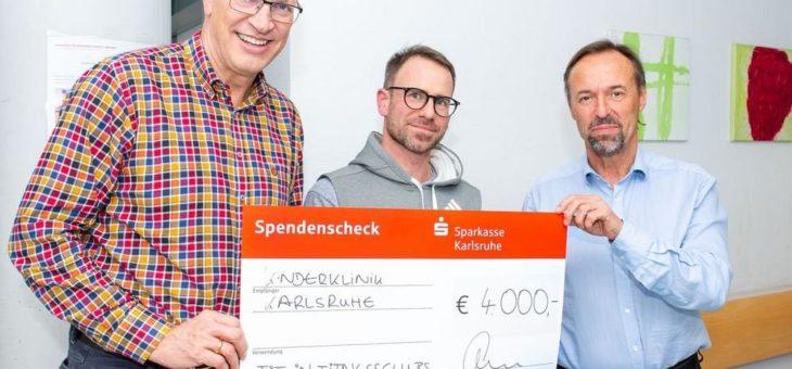 4.000 Euro aus Charity-Aktion gespendet