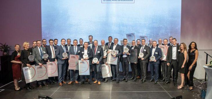 Meilenstein-Awards auf der Jubiläumsgala