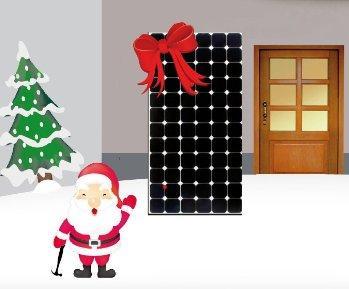"""Das """"nachhaltige Weihnachtsgeschenk"""" – BalkonSolar erzeugt Deinen Strom"""