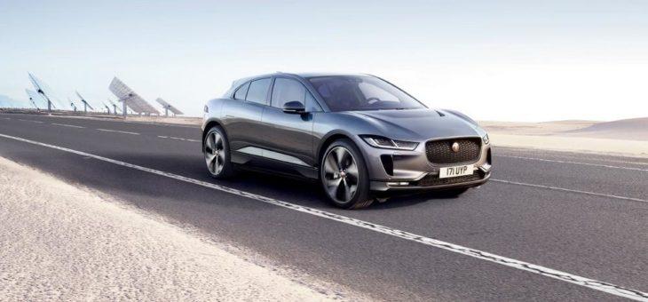 Elektrisierende Testfahrt: Mit dem Jaguar I-PACE durch St. Peter-Ording