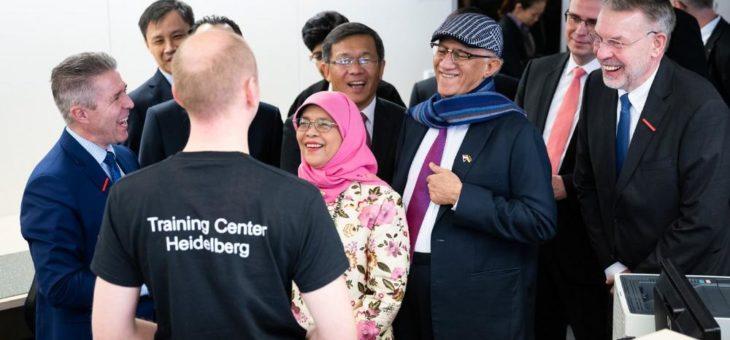 Staatsbesuch bei ABB in Heidelberg