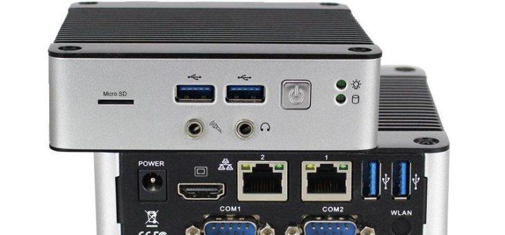 iCOP präsentiert ultra kompakten, lüfterlosen Mini-PC