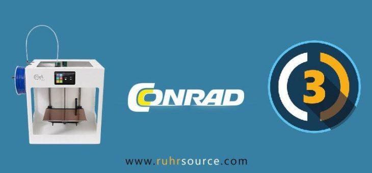 Jetzt im Conrad Online Shop: CraftUnique CraftBots und RUHRSOURCE CUR3D