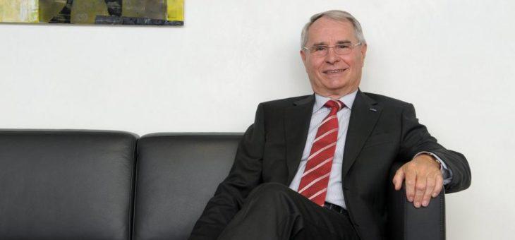 ebm-papst Gründer Gerhard Sturm wird 85 Jahre