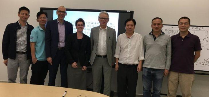 Professoren der Hochschule Aalen als Gastdozenten in China
