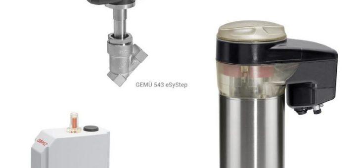 Elektrisch, effizient, eSy – Ventile mit neuen elektromotorischen eSy Antrieben