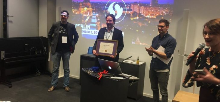 gate-Startup OmegaLambdaTec gewinnt 175. Unicorn Battle