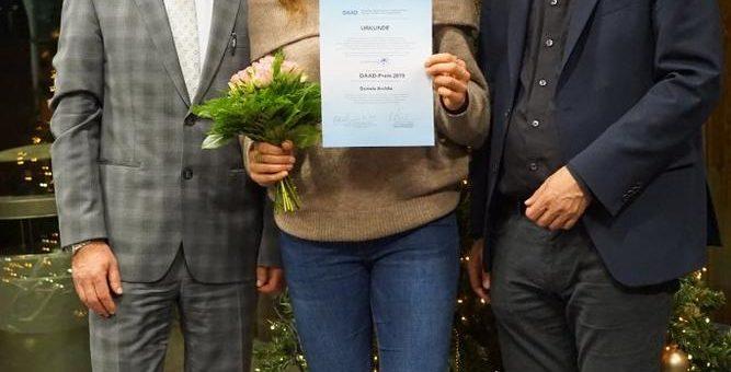 Preise für internationales Engagement an der Hochschule Aalen verliehen