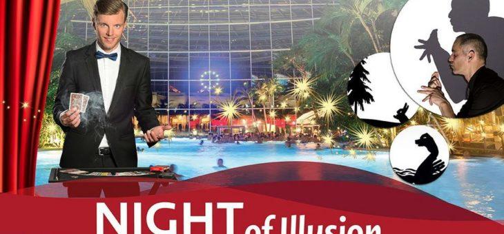 """Faszinierende Eventnacht """"Night of Illusion"""" – der Zauber eines neuen Jahres"""