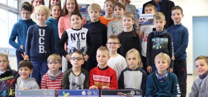 inovex unterstützt die Südschule Neureut bei der Gründung einer fischertechnik-AG