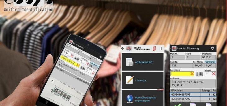 Inventur App für eine reibungslose Bestandserfassung
