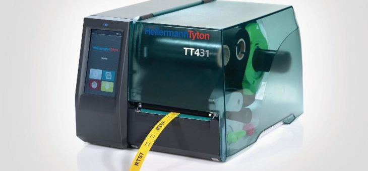 Kompakter Thermotransferdrucker setzt neue Maßstäbe bei der intuitiven Bedienung
