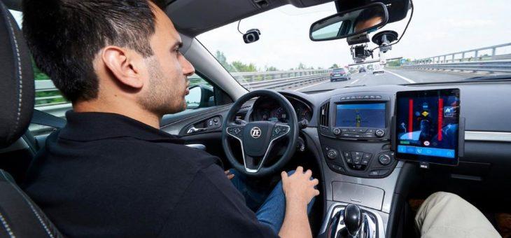 ZF bietet das branchenweit kosteneffizienteste Level 2+ System für teilautomatisiertes Fahren