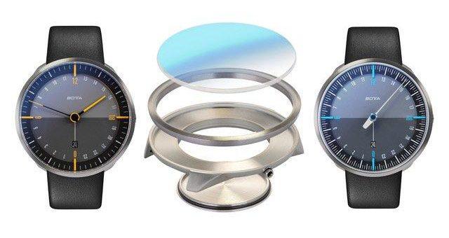 BOTTA entwickelt neue Uhrgehäuse aus drei spezifizierten Titansorten