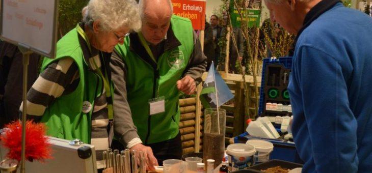 Bodenanalyse und Gartenfachberatung auf der Grünen Woche