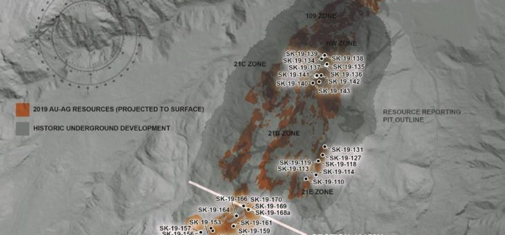 Skeena schneidet 14,73 g/t AuÄq. über 36,85 m bei Eskay Creek