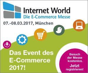E-Commerce-Experte als Aussteller auf der Internet World Messe 2017 in München vertreten