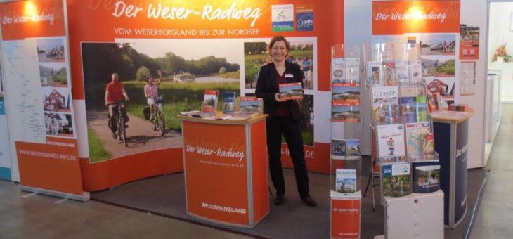 Weser-Radweg präsentiert sich in Stuttgart