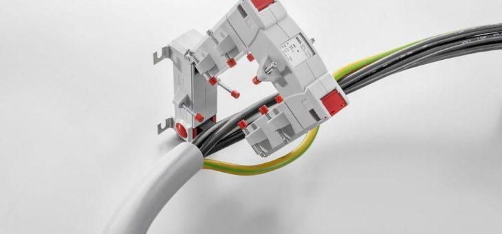 Weidmüller KCMA Kabelumbau-Stromwandler und Differenz-stromwandler für den nachträglichen Einbau – kompakte Bauform – schnelle und einfache Montage – ideal zum Erfassen selbst kleinster Ströme – einfache Installation ohne Betriebsunterbrechung