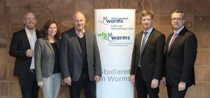 Kooperationsvereinbarung zwischen Kultur und Veranstaltungs GmbH, Wirtschaftsförderunge und Hochschule Worms