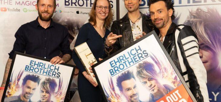 Ausverkaufte Show der Ehrlich Brothers mit Sold Out Award gekürt