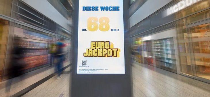 250. und 251. Millionen-Gewinn bei der Lotterie Eurojackpot