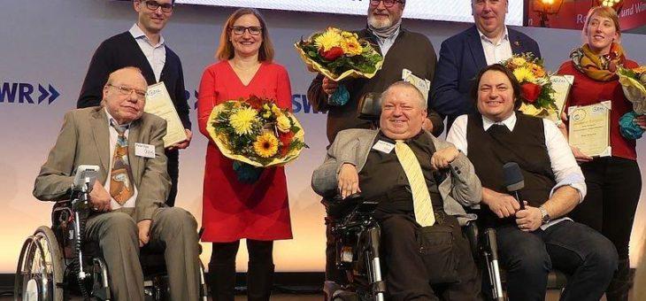 Pfälzer Feste für Alle mit dem Goldenen Rollstuhl 2020 ausgezeichnet