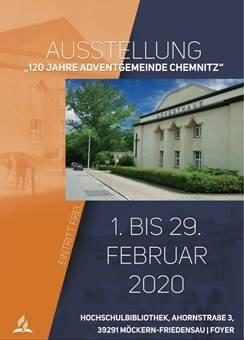 """Ausstellung """"120 Jahre Adventgemeinde Chemnitz"""""""