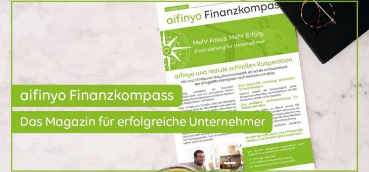 aifinyo Finanzkompass 01/2020: Lesen Sie jetzt die neuesten Tipps für erfolgreiche Unternehmer!