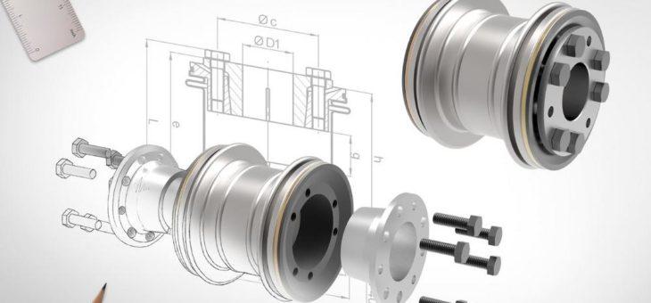 Einsatz von torsionssteifen Metallbalgkupplungen in  Spezial-Hochgeschwindigkeits-Prüfständen