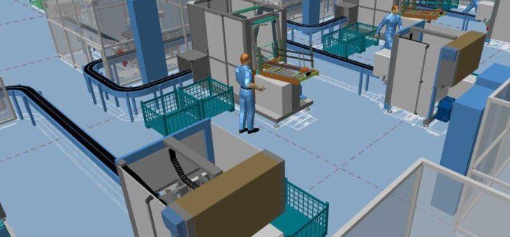 Die virtuelle Fabrik wird Realität