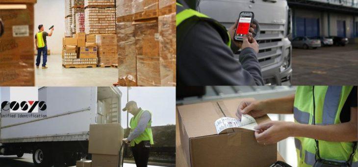 COSYS TMS Verlade- und Ablieferscanning Software für die Kundenbelieferung