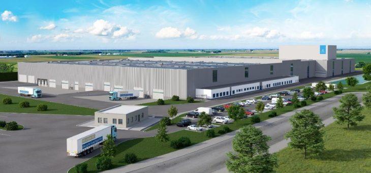 Grundsteinlegung in Rotenburg: Innovatives Logistikcenter von thyssenkrupp Materials Services soll Mitte 2021 eröffnen