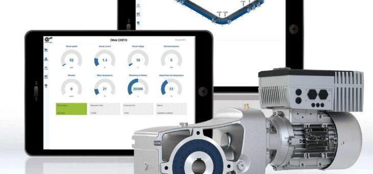 Intelligente Lösungen, Industriegetriebe, Antriebselektronik und IE5+ Motoren mit hoher Effizienz