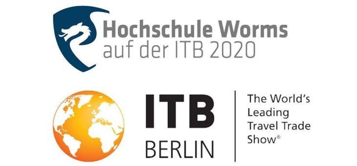 Fachbereich Touristik/Verkehrswesen der Hochschule Worms auf der ITB 2020