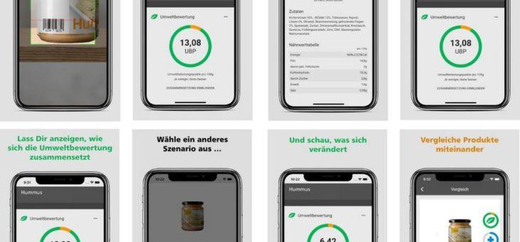"""TU Ilmenau als Aussteller für """"Woche der Umwelt"""" ausgewählt: App für den Vergleich von Lebensmitteln"""