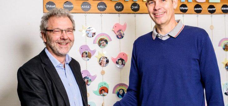 Spendenübergabe der TSO-DATA Nürnberg GmbH an das Caritas-Kinder- und Jugendhaus Stapf