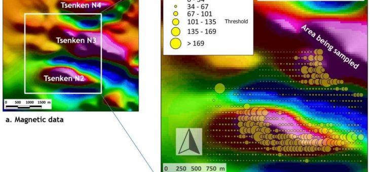 Kupferanreicherung im Boden optimiert Auranias Tsenken N3 zu einem porphyrischen Kupferziel