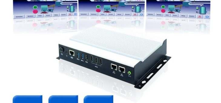 SI-323-N: Kompakter Digital Signage Player mit AMD Ryzen Prozessor