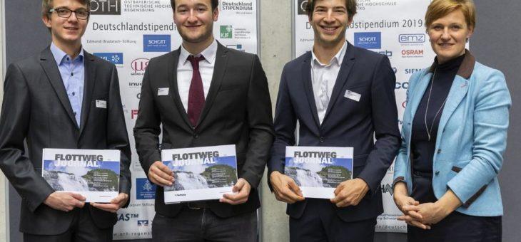 Regensburger Studenten von Flottweg unterstützt