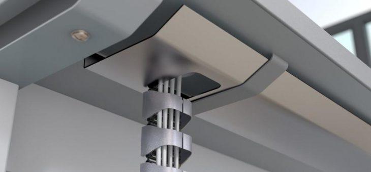 Formschönes Design der Energieführungskette für Büro- und Interior-Anwendungen