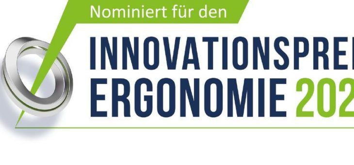 """NeoLog für """"Innovationspreis Ergonomie"""" nominiert"""
