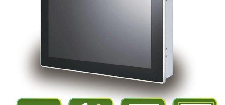 Kleiner kompakter Panel PC mit True-Flat PCAP Touch
