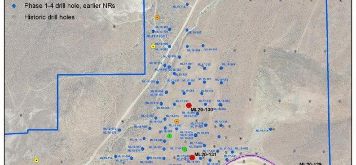 Corvus Gold erweitert Hauptzone (88,4 m mit 1,92 g/t Au) und zentrale intrusive Oxidzone (CIZ) in der Lagerstätte Mother Lode in Nevada
