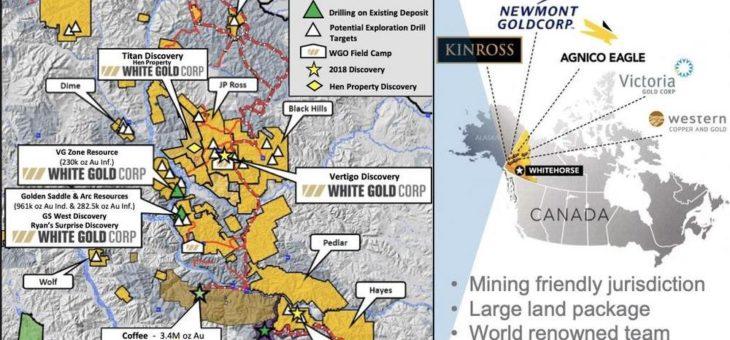 White Gold – hohe Mineralisierungen über lange Strecken