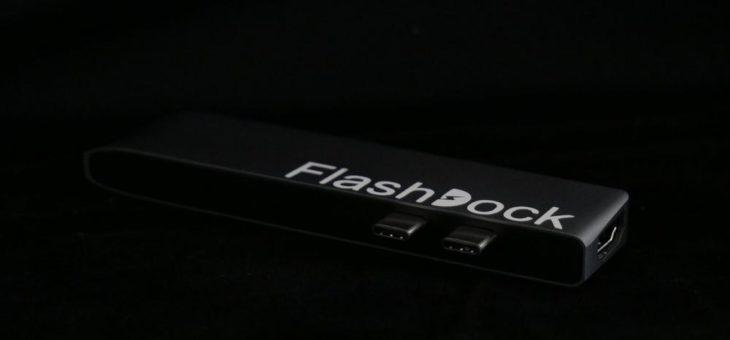 """FlashDock – mit einem """"Klick"""" 2TB mehr"""